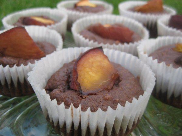 Almás csokis muffin